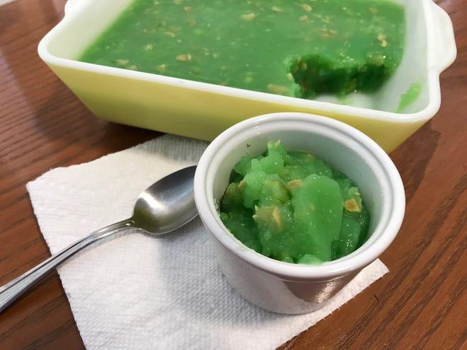 Lime Applesauce Salad