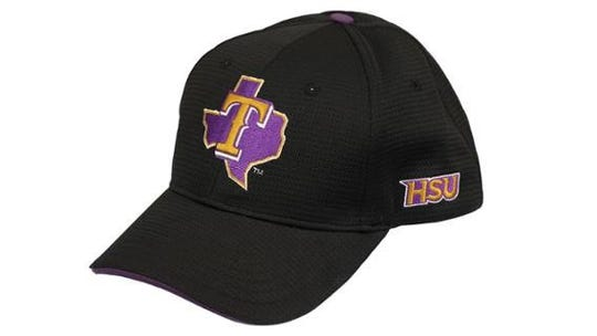 The HSU hat the Texas Rangers will give away with a special ticket package on June 1.