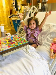 Ailani Myers, 3, has leukemia and needs a bone marrow transplant.