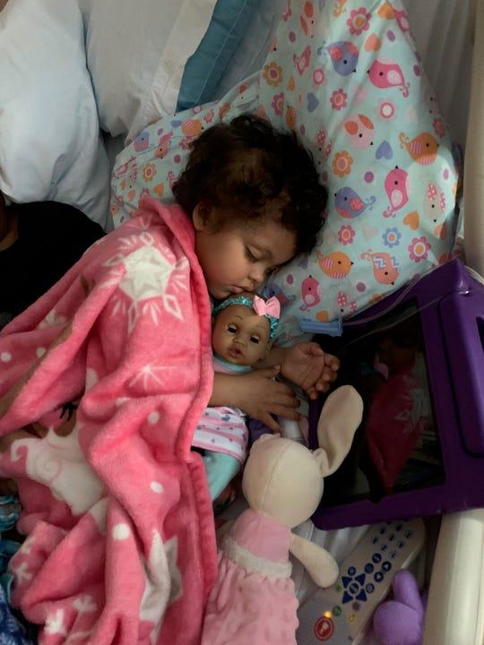 Ailani Myers, 3, has leukemia and needs a bone marrow transplant.