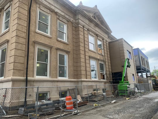 The historic Carnegie Library is being renovated into SUNY Broome's new Culinary and Event Center.