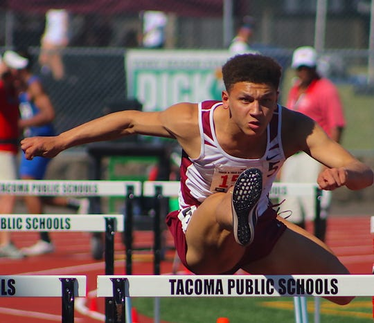South Kitsap's Deyondre Davis won a Class 4A track and field state championship last spring and secured a college scholarship, but he isn't done with his legacy on West Sound track and field.