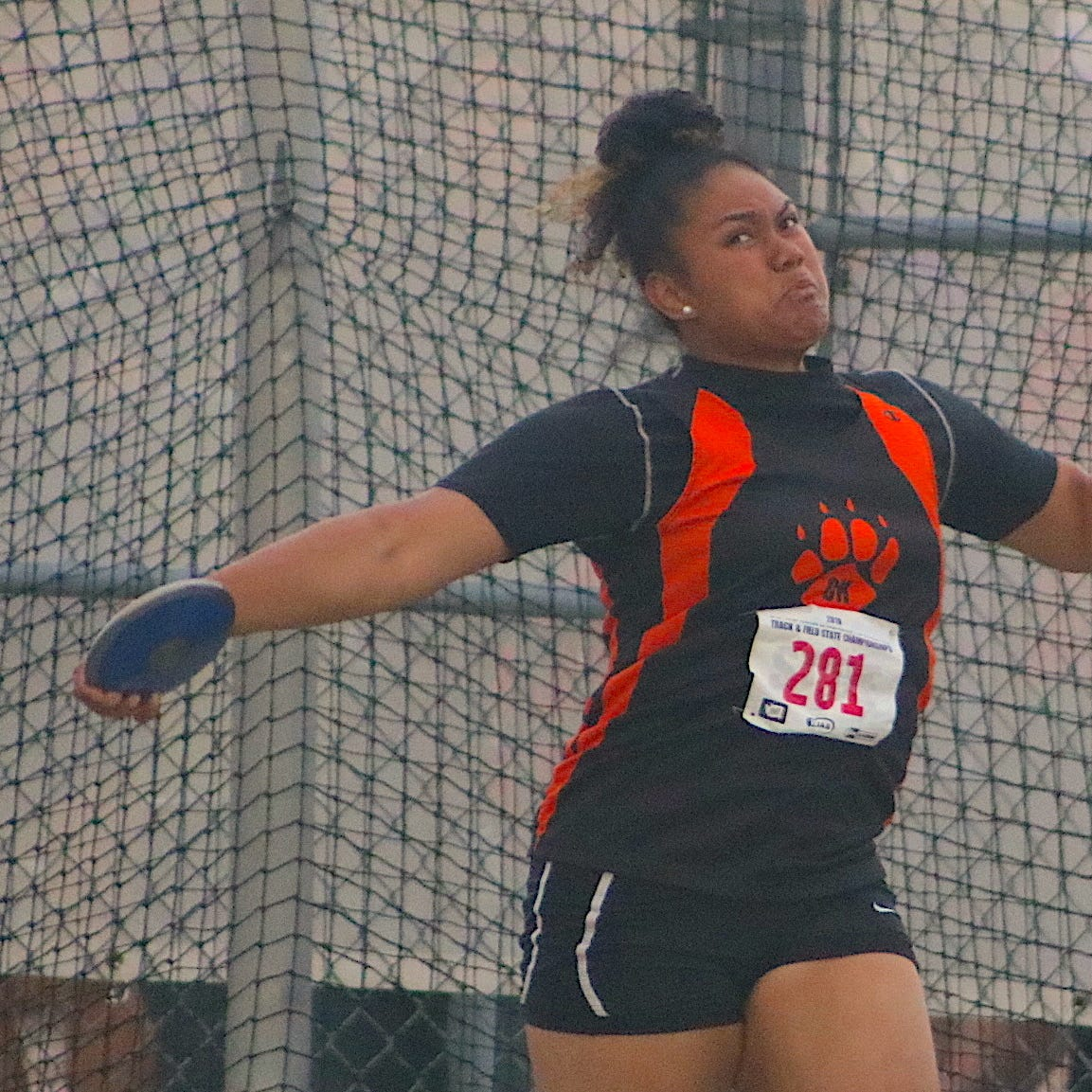 Fuiava destroys West Sound discus record in state win