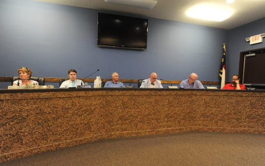 Black Mountain elected officials meet for a workshop to discuss the 2019-20 budget on May 20. The board is set to be presented with the final draft of the budget on Monday, June 10. If approved, the budget will go into effect when the new fiscal year begins on July 1.