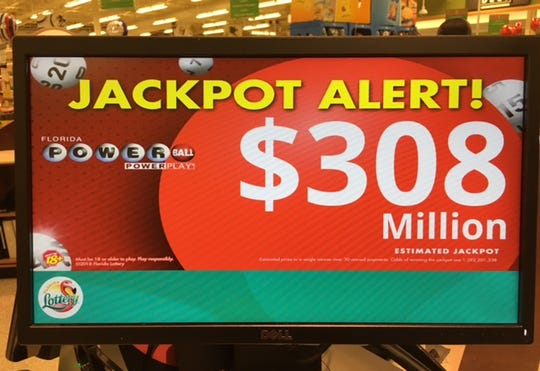 The Powerball jackpot continues to grow.