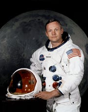 Apollo 11 Commander Neil Armstrong