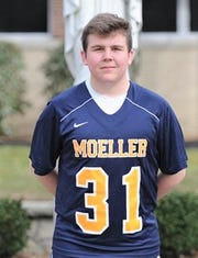 Zach Sence in Moeller lacrosse uniform