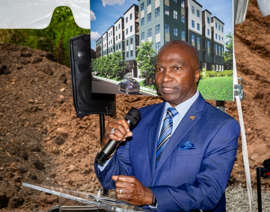 Plainfield Mayor Adrian O. Mapp welcomes the second phase of The Station at GrantAvenue, the Fourth Ward's largest redevelopment project in more than 50 years.