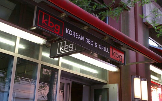 Outside of KBG Korean Grill.