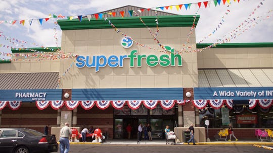 The new SuperFresh store in Linden on North Stiles Avenue.