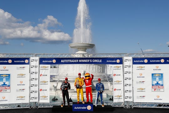 Grand Prix fans will get a chance to stand on the podium at the Autotrader Winner's Circle for a fun photo opportunity.