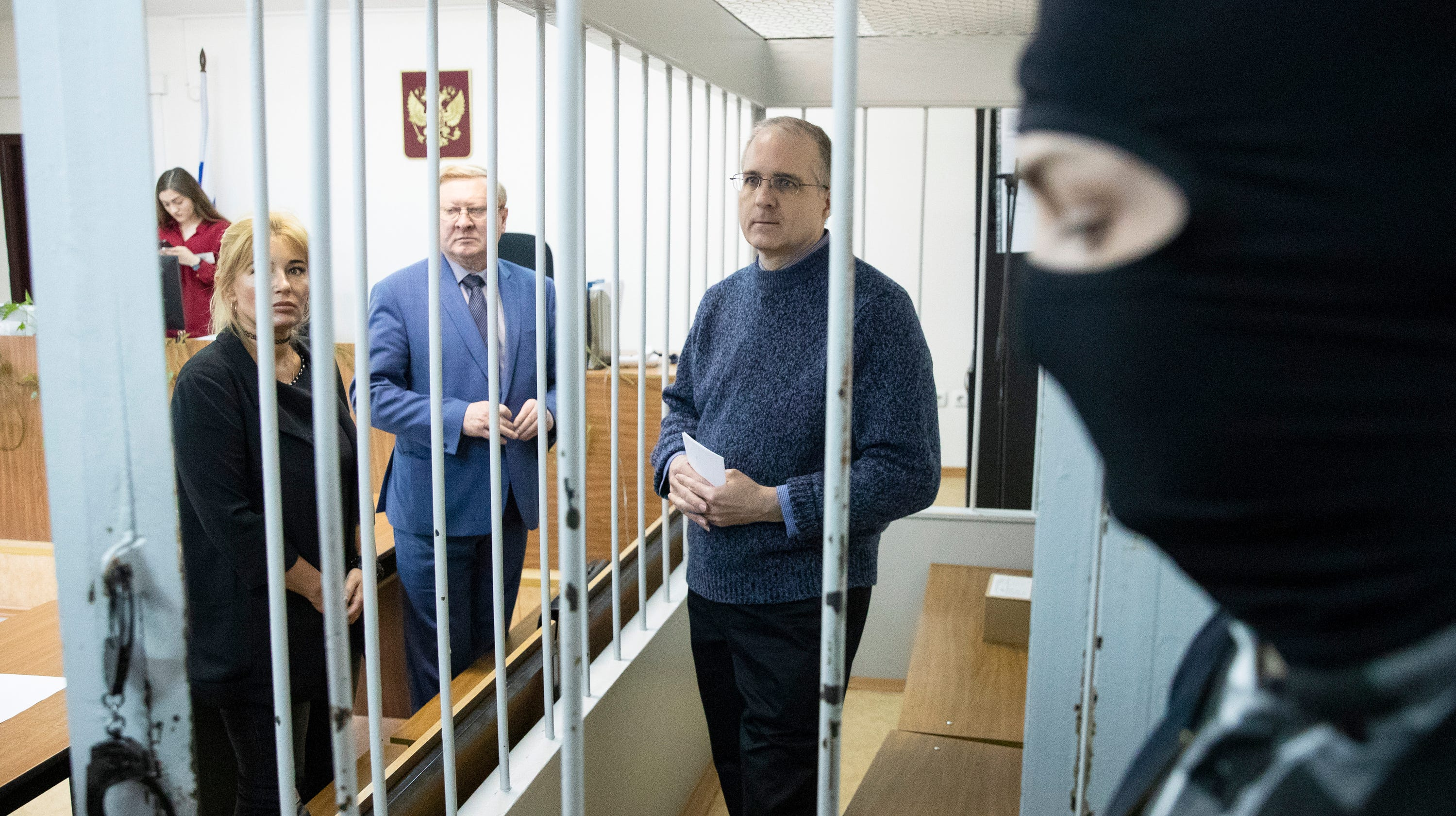 American accused of being a spy says he's being threatened, abused in Russian prison