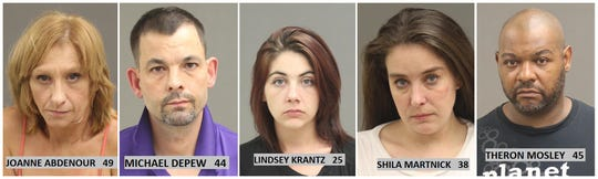 5 arrested on prostitution, drug charges in Warren neighborhood