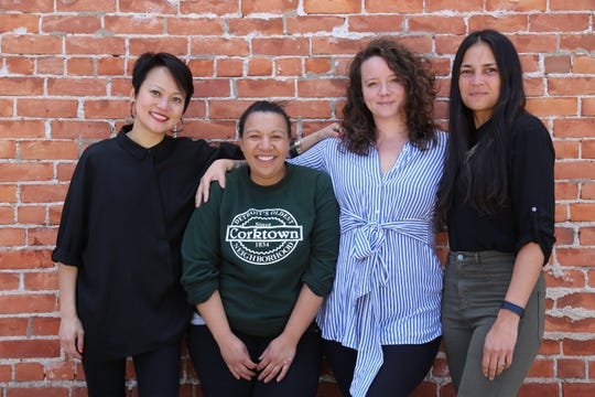 From left: The Royce and Marrow proprietor Ping Ho, Folk and Farmer's Hand co-owner Kiki Louya, Marrow Executive Chef and co-owner Sarah Welch and Folk and Farmer's Hand co-owner Rohani Foulkes. The four women are joining forces on a new joint venture and restaurant partnership.