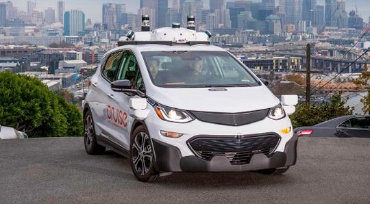 GM found opposition to its petition to federal regulators for permission to put up to 5,000 driverless Cruise AV cars — without steering wheels or control pedals — on public roads.