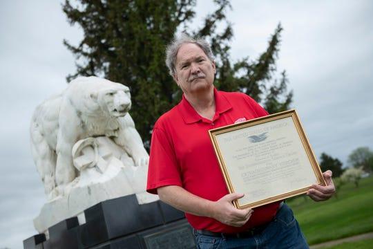 Mike Grobbel, the grandson of a Polar Bear, is president of the Polar Bear Memorial Association.