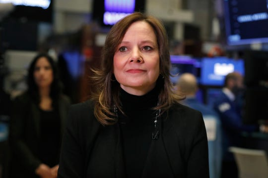 Chairwoman and CEO of General Motors Mary Barra. At $21.9 million, Barra was the highest-paid female CEO for 2018.