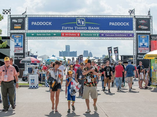 For the first time at the Detroit Grand Prix, all ticketholders will have access to the race paddock without an additional pass.