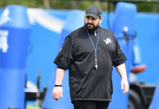 Matt Patricia is entering his second season as the Lions' head coach.