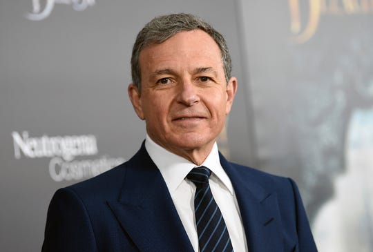The Walt Disney Company CEO Robert Iger, the second-highest paid CEO at big U.S. companies for 2018. He made $65.6 million.
