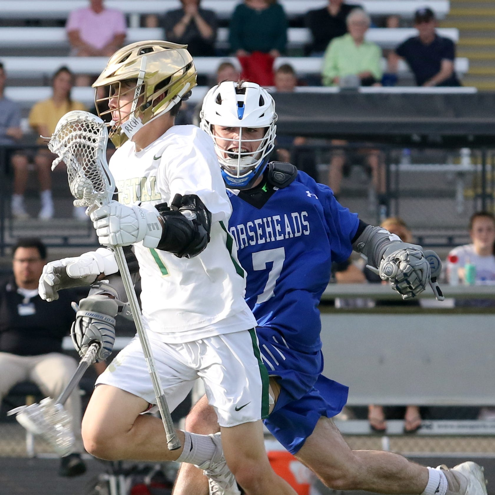 Vestal rides quick start to win over Horseheads in Class B boys lacrosse final