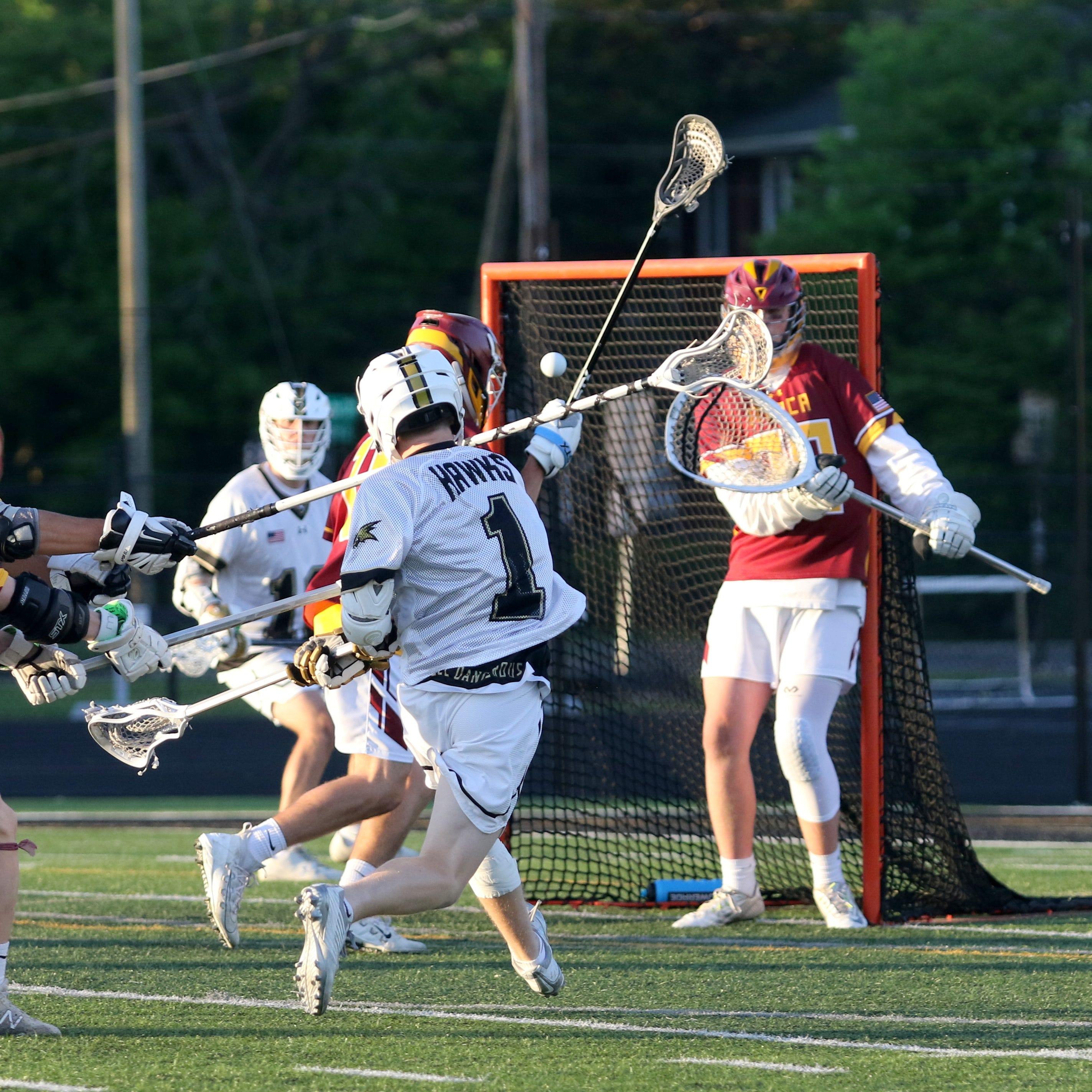 Corning boys reclaim Class A sectional lacrosse title in dominant fashion
