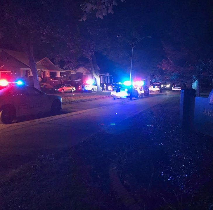 One reported shot in incident on Evansville's Madison Avenue, several in EPD custody