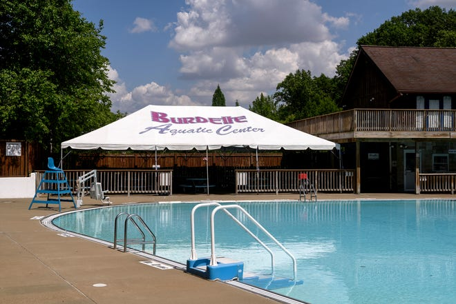 A look at Burdette Park in May 2019, as it prepared to open for the summer. The pool will remain closed in summer 2020 due to the coronavirus pandemic.