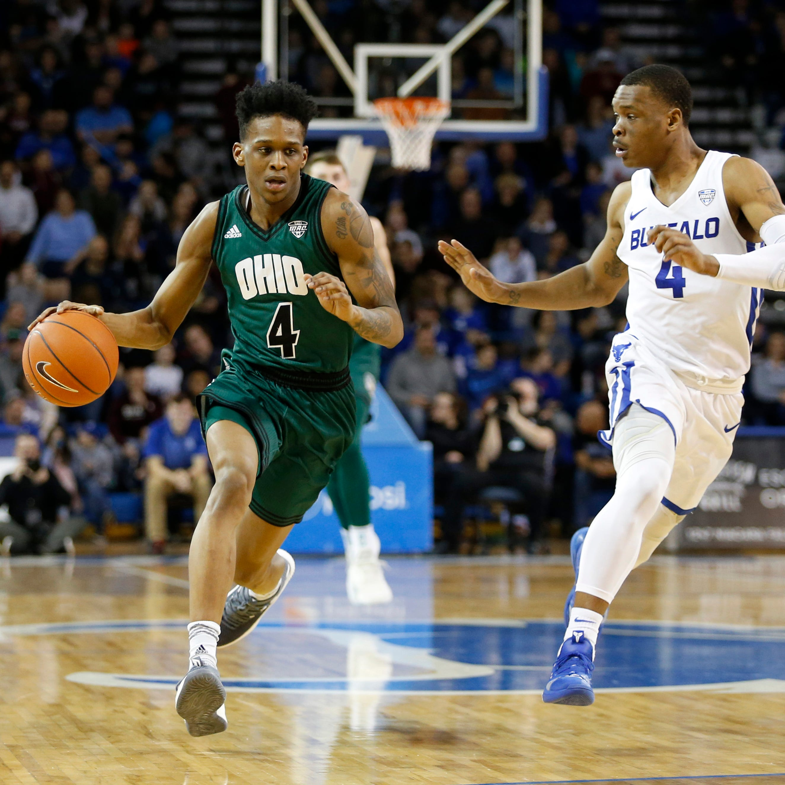 Highly-ranked guard says he'll transfer from Ohio to Colorado State basketball team