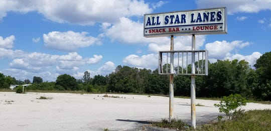 The former All Star Lanes in North Fort Myers, home to league and recreational bowling and  a popular venue for out-of-market NFL games on Fall sundays, burned down in early 2018. Lee County commissioners have approved an 80,000 square foot boat and RV vehicle storage facility for the property.