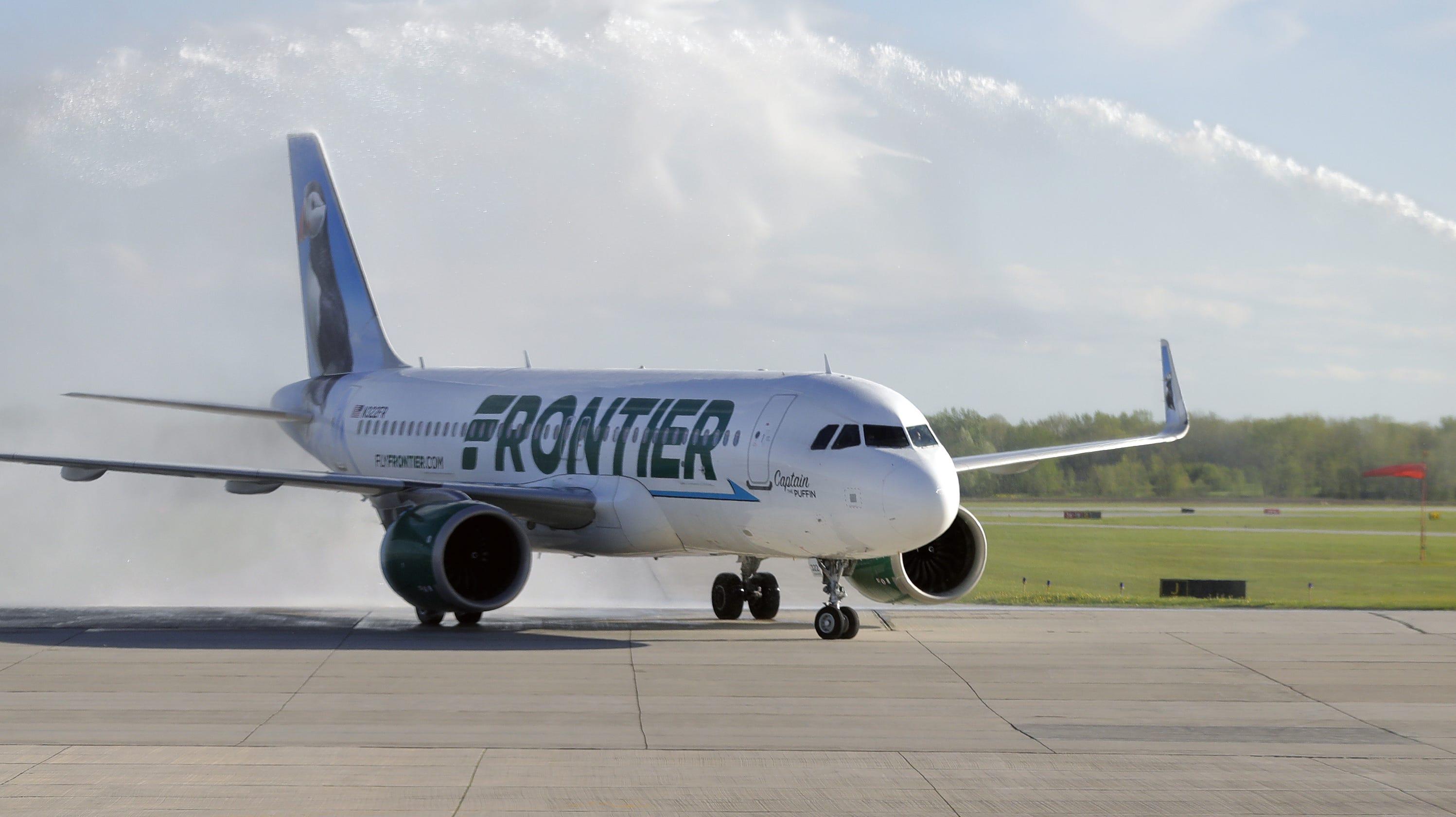 Resultado de imagen para frontier airlines Denver