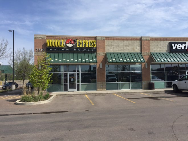 Noodle Express on 10th Avenue South in Great Falls has closed down.