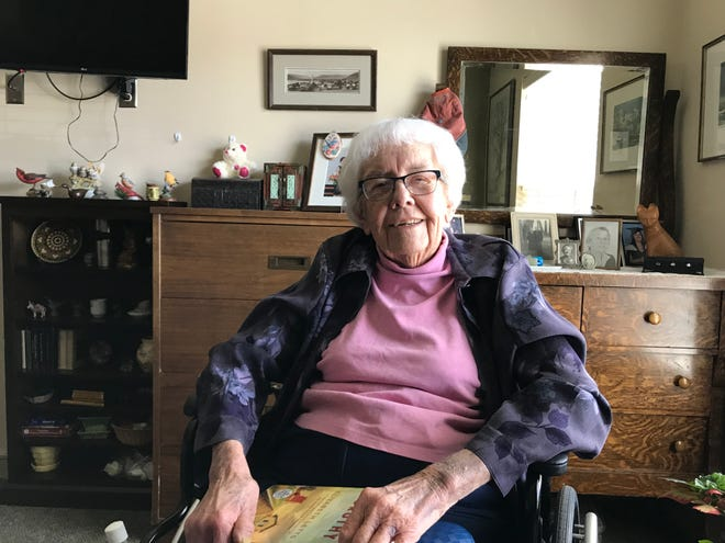 Jean Setter grew up in Hobson and was a nurse during World War II and beyond. She is now fast friends with Ruth Lowden, who served as a nurse in Germany during the war.