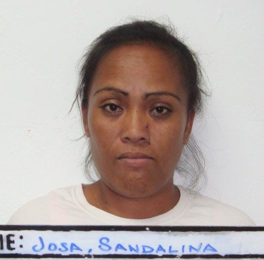 Game room worker Sandalina Josa allegedly stole from gaming machines