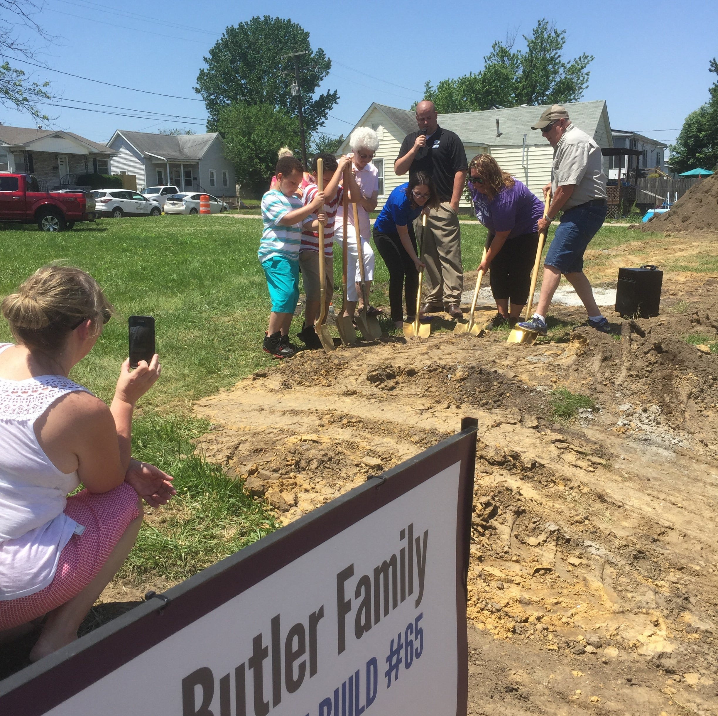 Ground broken on 65th Habitat for Humanity home in Henderson