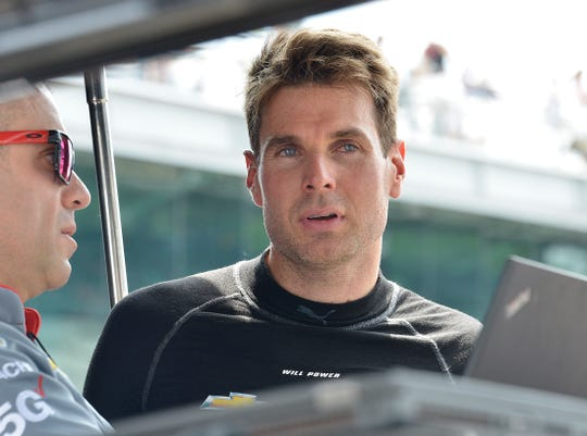 Will Power (12) of Team Penske during Carb Day at the Indianapolis Motor Speedway on Friday, May 24, 2019.