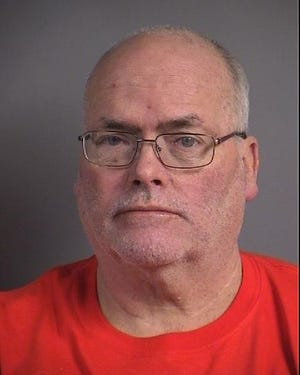 Donald Joseph Claffey, 57, faces OWI and failure to have a valid license charges after he allegedly drove into a retaining wall on May 24, 2019.