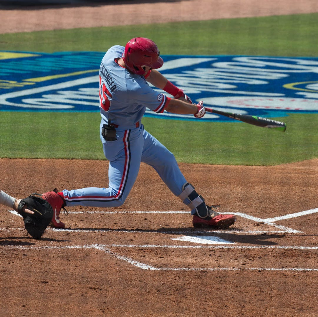 Ole Miss pulls off another improbable comeback, eliminates Arkansas with 3-2 SEC Tournament win