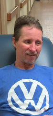 Jim Daniels was happy to be back in Henderson at Henderson Health & Rehabilitation when he returned earlier in May.