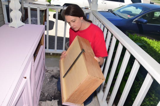 While on the prowl for furniture to refurbish for those in need, Debbie Lamb makes sure to stick to quality pieces. May 2019