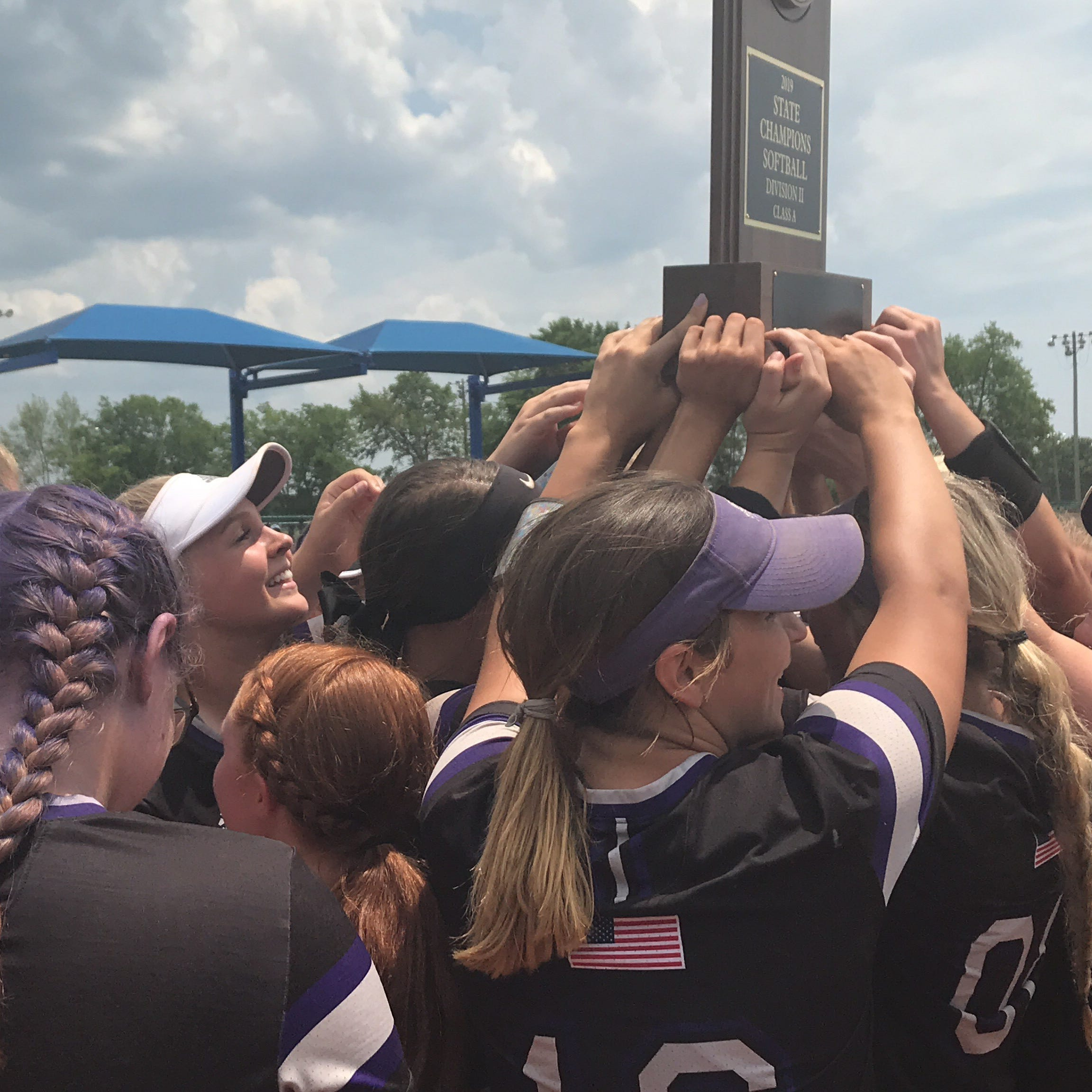 TSSAA Spring Fling: Lady Vols commit Kaylan Cole leads King's Academy softball to third title in 4 years
