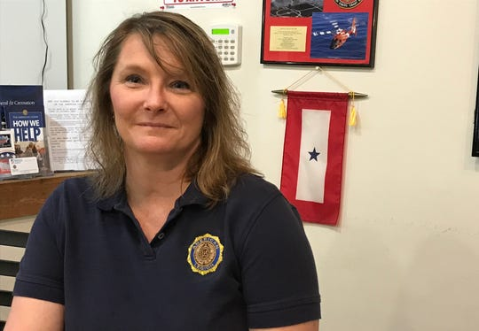 Jill Wable became commander of the American Legion Post 492 in West Lafayette. She is the first female commander and has member of the Legion for 13 years.