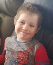 Owen Jones, a 4-year-old from Monticello, was swept away in a swollen Deer Creek in Delphi on Thursday, May 23, 2019. A search operation continued Friday.