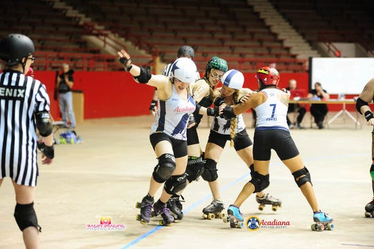 Acadiana Roller Derby celebrates 10 years this summer.