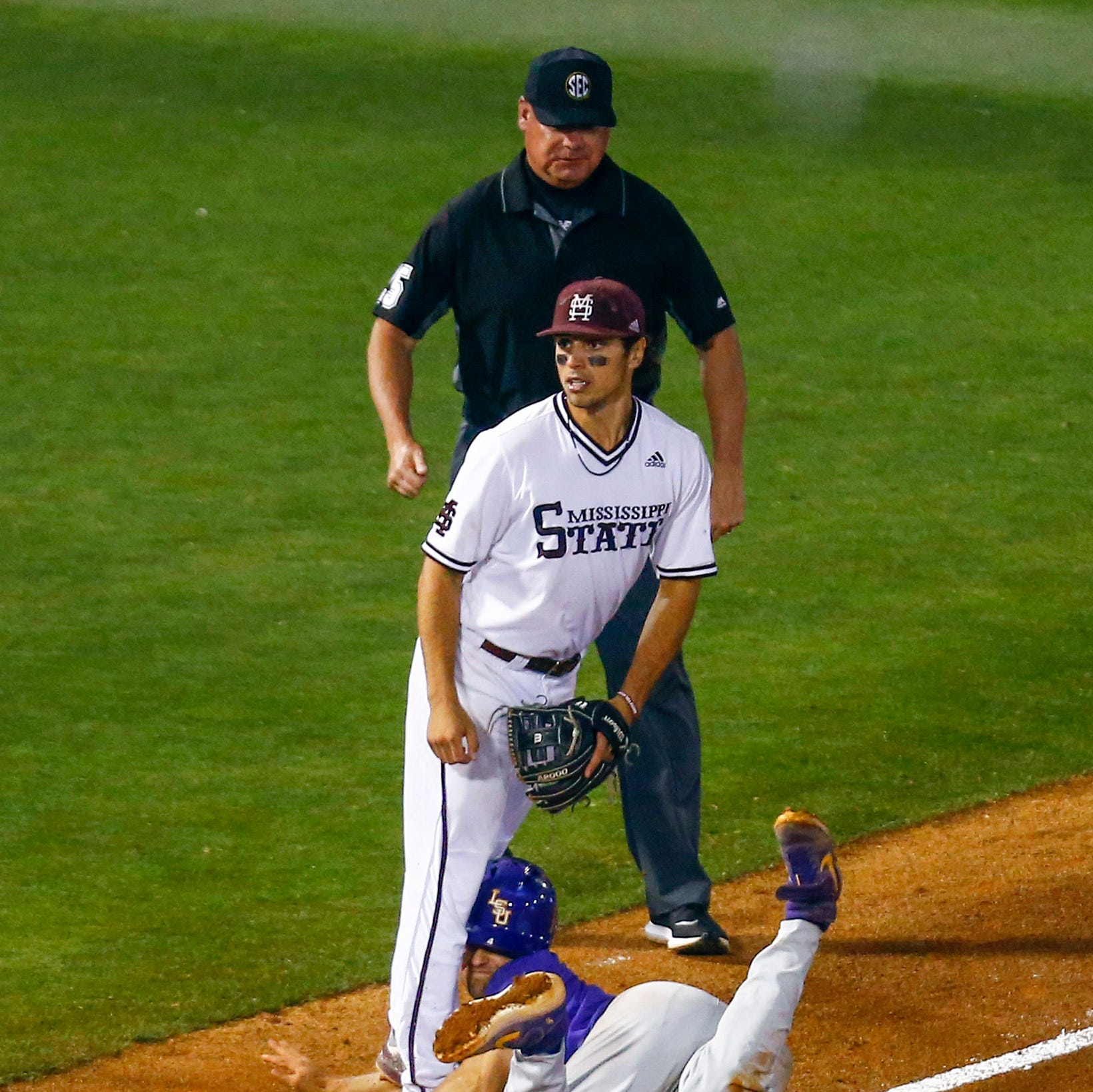 SEC Baseball Tournament 2019: Who are the umpires for LSU vs. Mississippi State?