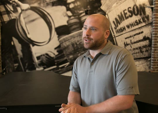 Drew Hagedon, general manager of Jameson's Irish Pub, talks Friday, May 24, 2019 about what the Brighton incarnation of the restaurant will offer.