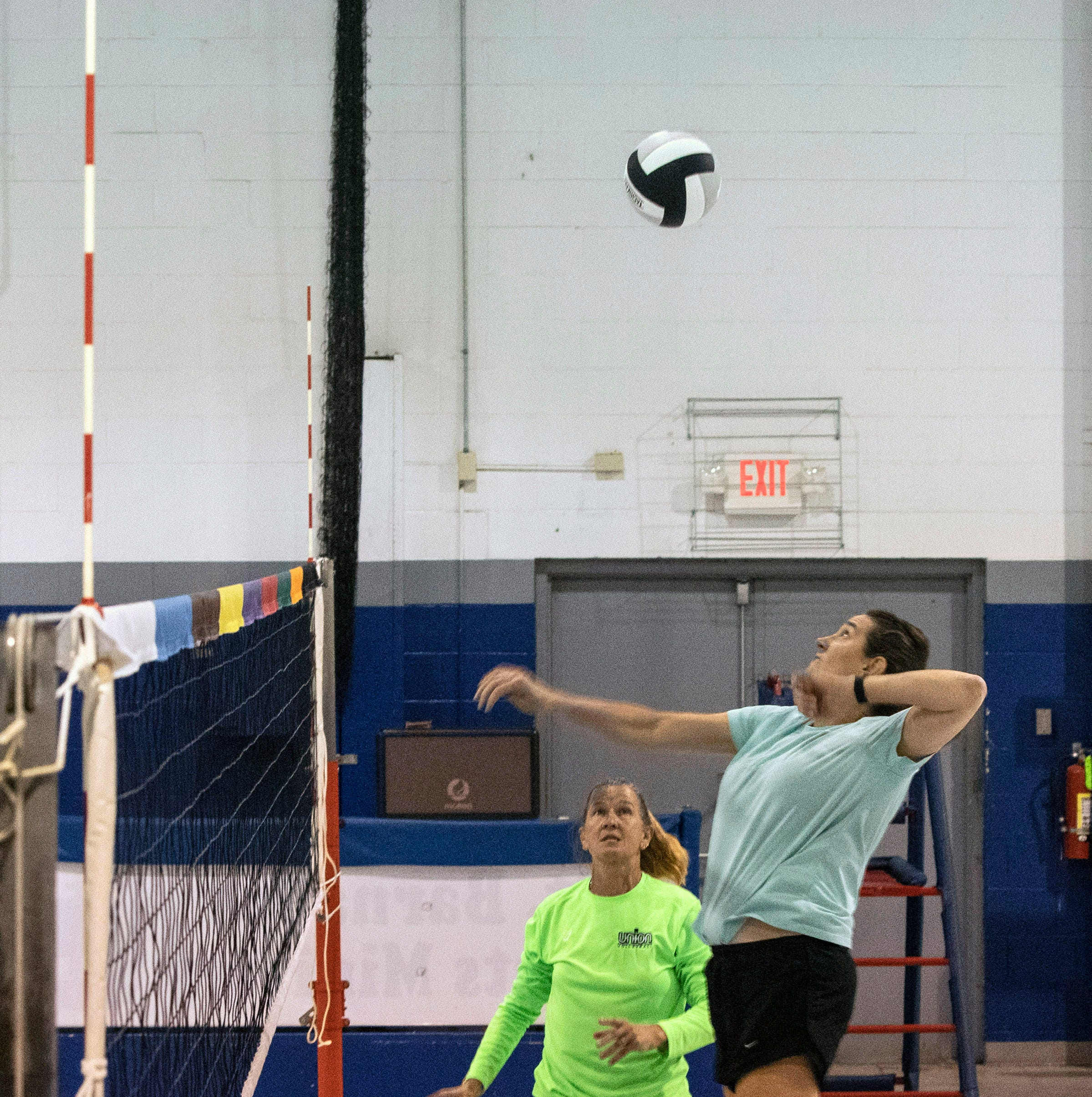 'We're the crazy ones': Local 50-and-over team aims for USA Volleyball national title