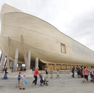 Owners of biblical replica of Noah's ark sue over ... rain damage (and it wasn't even 40 days and 40 nights)
