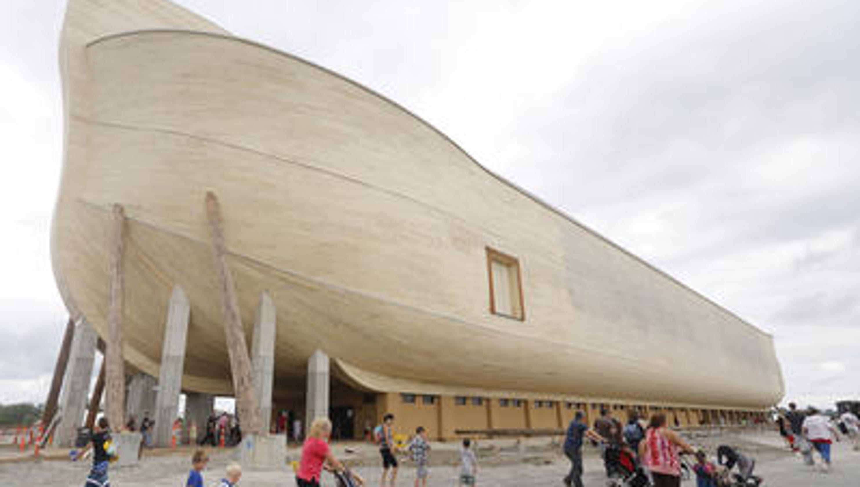Ark Encounter owners sue over rain damage