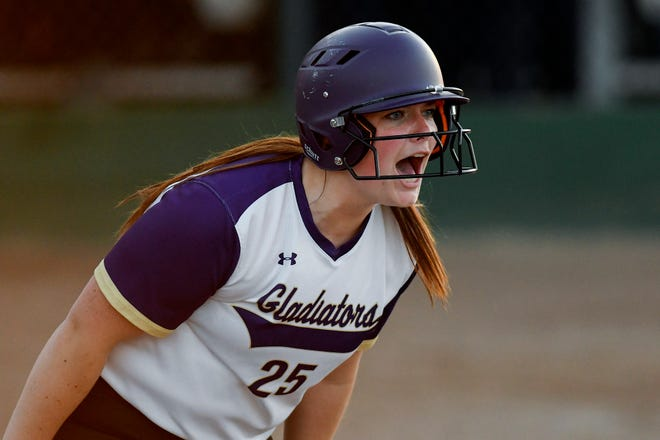 Peyton Boden drove in 26 runs for Fowlerville's softball team last season.